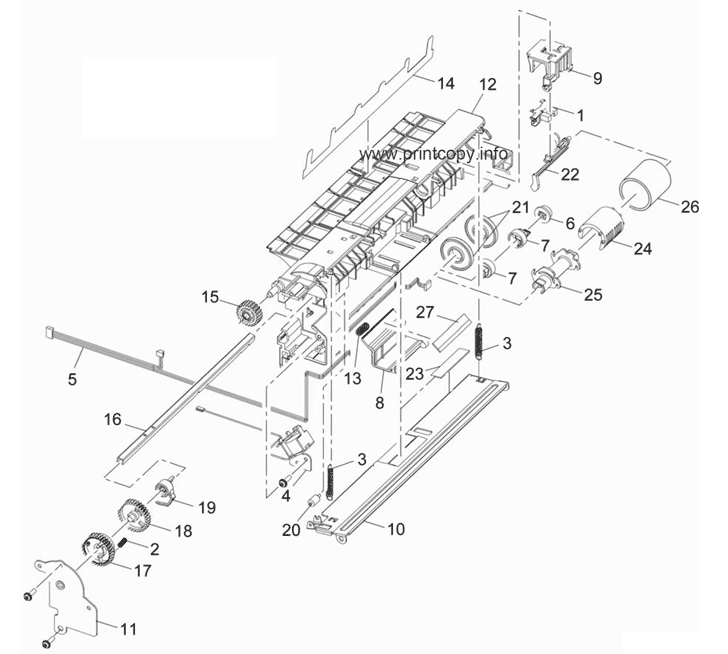 Parts Catalog > Xerox > WorkCentre 3550 > page 14