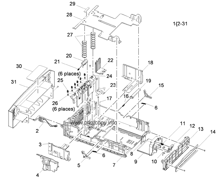 Parts Catalog > Xerox > WorkCentre 3550 > page 16