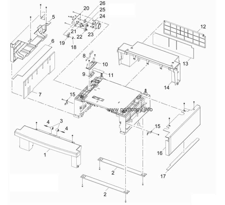 Parts Catalog > Xerox > WorkCentre 3550 > page 17
