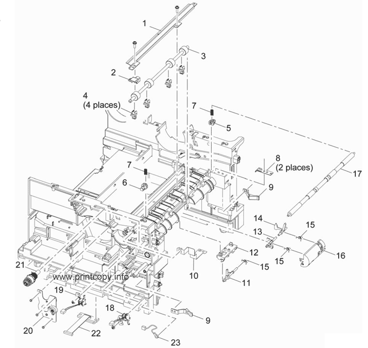 Parts Catalog > Xerox > WorkCentre 3550 > page 20