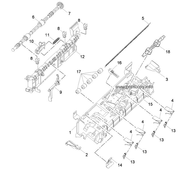 Parts Catalog > Xerox > WorkCentre 3550 > page 23