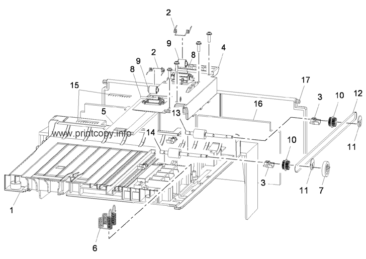 Parts Catalog > Xerox > Phaser 3635 MFP > page 27