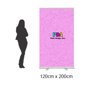 Budget Series Pull Up Roll Up Banner Stand (120 x 200cm)