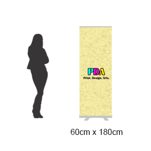 Budget Series Pull Up Roll Up Banner Stand (60 x 180cm)