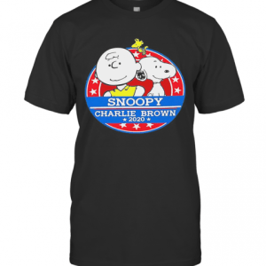 The Peanuts Snoopy Charlie Brown 2020 America T-Shirt Classic Men's T-shirt