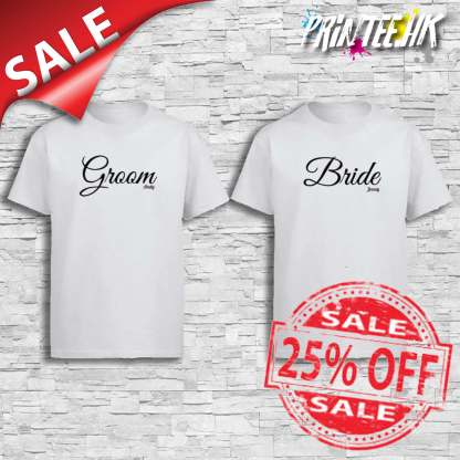 Groom and Bride Cover Sales