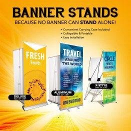Banner Stand in San Antonio