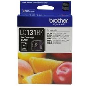 brother lc131 black ink cartridge