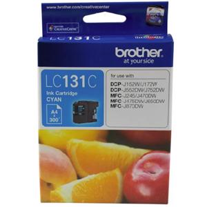 brother lc131 cyan ink cartridge