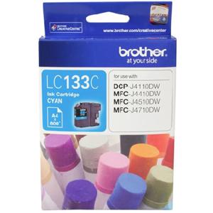 brother lc133 cyan ink cartridge