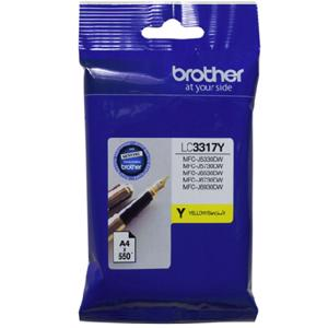 brother lc3317 yellow ink cartridge