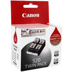 canon 520 twin pack black ink cartridge