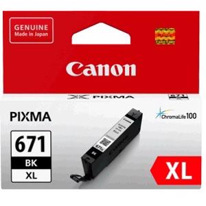 canon 671xl black ink cartridge