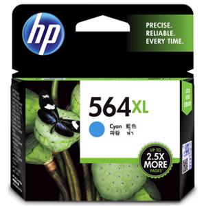 hp 564xl cyan printer ink
