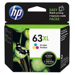 hp 63xl colour printer ink