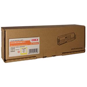 oki 46490609 yellow toner cartridge