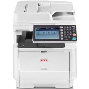 oki mb562dnw mono laser printer