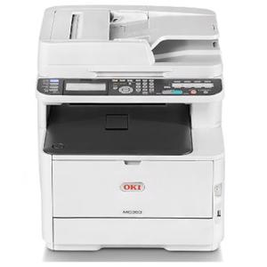 oki mc363dn colour laser printer