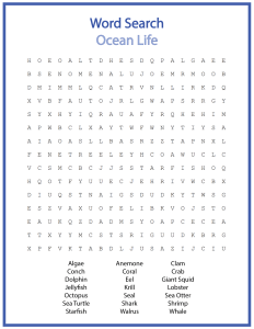 Word search puzzles printable Free Printable