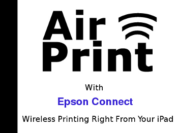 AirPrint with Epson Connect in Cork, Wireless Printing