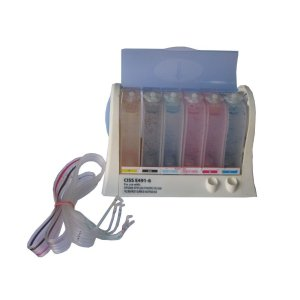 VMS Empty CISS Ink Tank Kit For Brother Canon HP Inkjet Printer