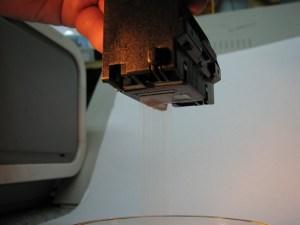 Печатающая головка промыта