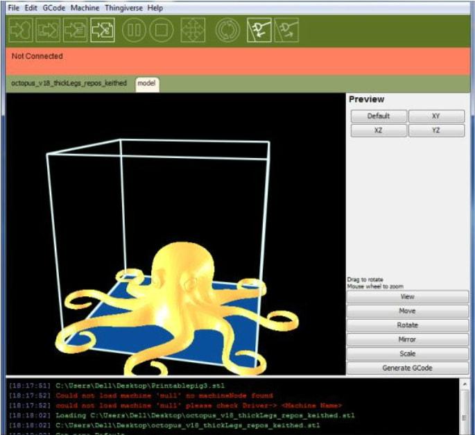 3D модель готова к печати