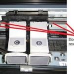 Расположение ленты энкодера (Нажмите для увеличения)