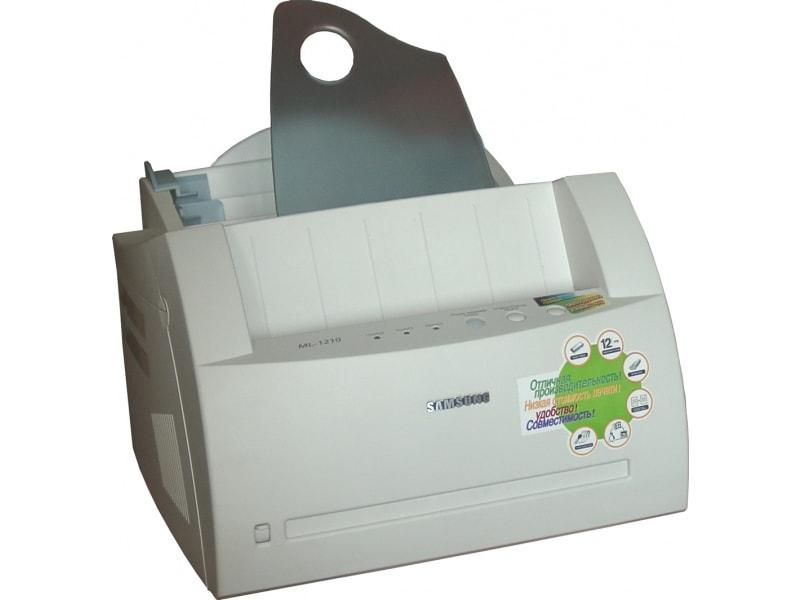 Скачать драйвер принтера samsung ml-1200, ml-1210 новые драйвера.