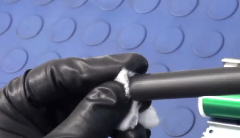 Вытираем контакты магнитного вала