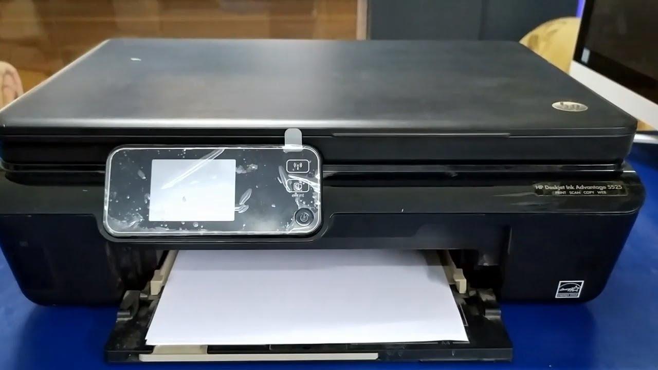 hp deskjet ink advantage 5525 драйвер