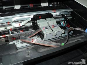 каретка принтера Canon