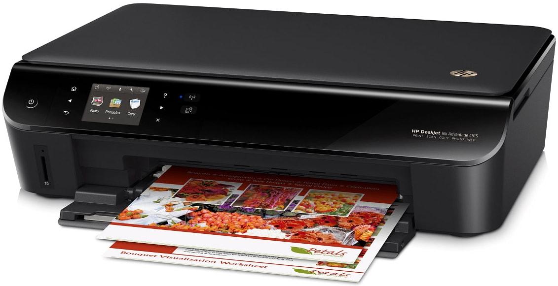 Скачать драйвера для принтера hp deskjet 4515