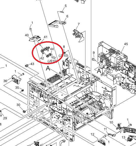 10.01.00 Supply Memory Error on the HP 2400 Laserjet Printer