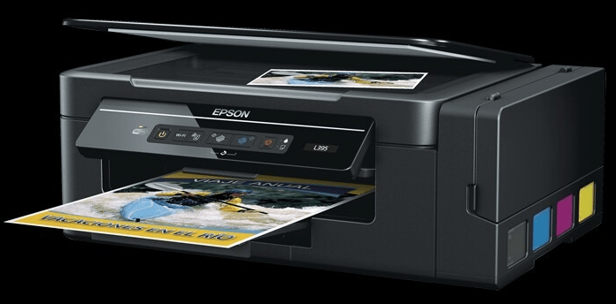 Download Epson L395 driver & scanner software