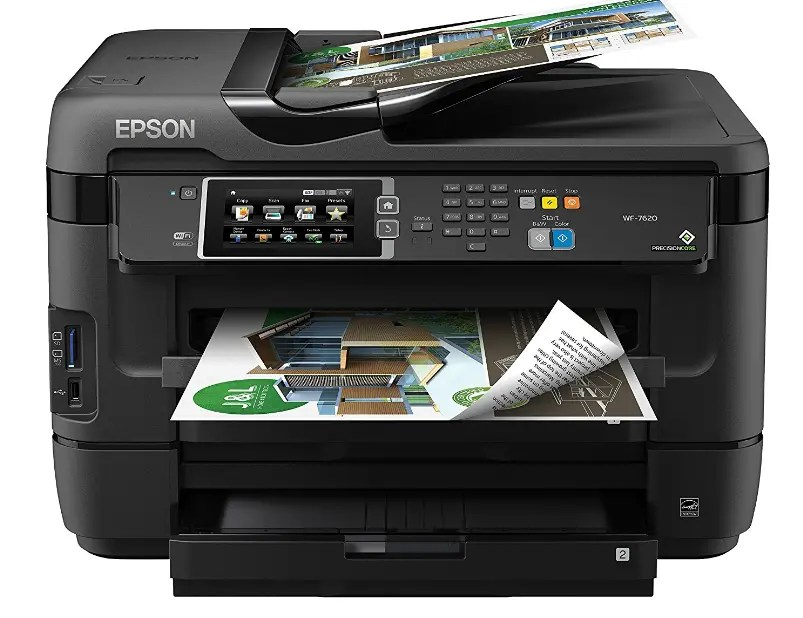 Epson WorkForce WF-7610 Driver and Software For Windows and Mac
