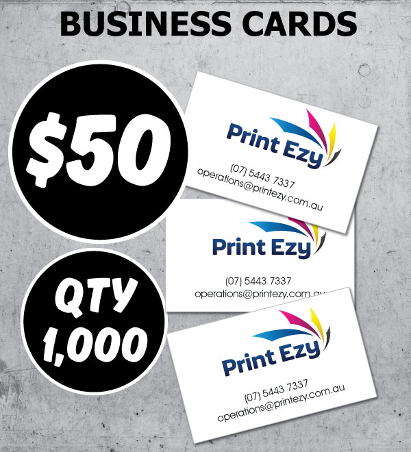 1000x Business Cards - $50