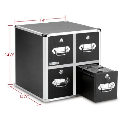 CD cabinet with 4 drawers with dimensions