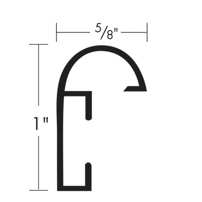 Galeria 800 profile measurements