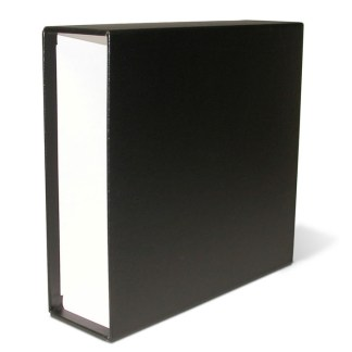 Black oversized slipcase