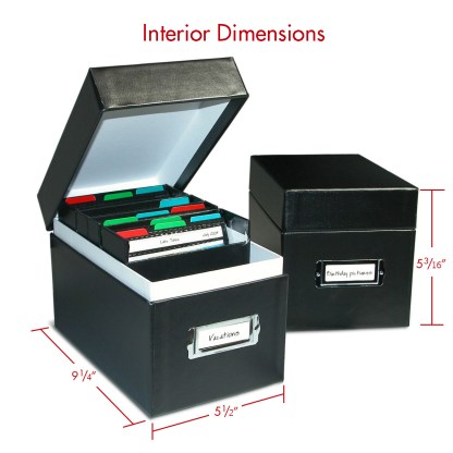 Two CD Portfolio Boxes shown with dimensions