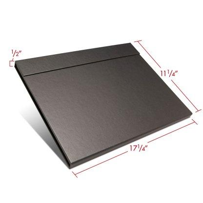 Folio folder 11x17 closed with dimensions