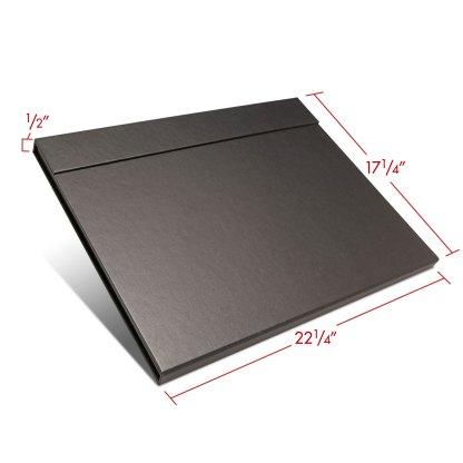 Folio folder 17x22 closed with dimensions
