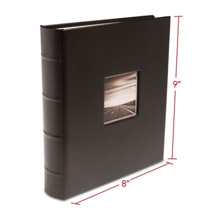GL-BLK-CWF album with dimensions