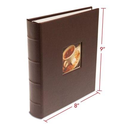 GL-BRN-CWF album with dimensions