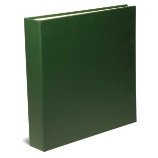 "Green 1.5"" OB Binders shown closed"