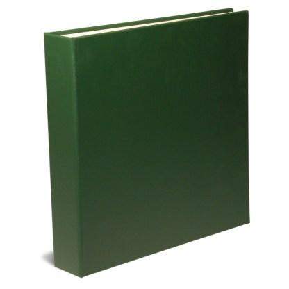 "Green 1.5"" OB Binders shown closed"