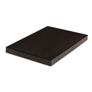 "Black Standard Proof Box, 1/2"" depth"