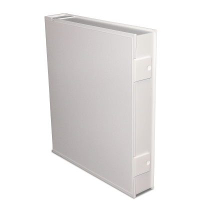 White Safe-T-Binder - closed