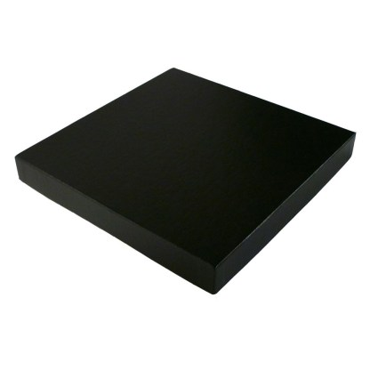 Square Proof box, black